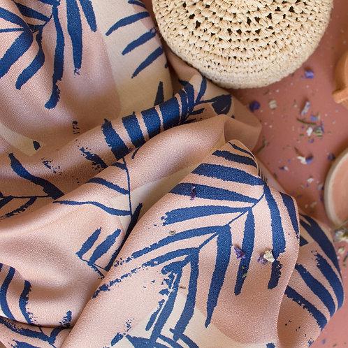 Crêpe de Viscose  Atelier Brunette - Canopy Cobalt