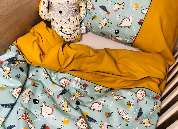 Housse de couette bébé et sa taie d'oreiller (135/100) - sur commande