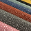 Thumbnail: Popeline de coton - Gris Anthracite Pois Blanc - 9€/m