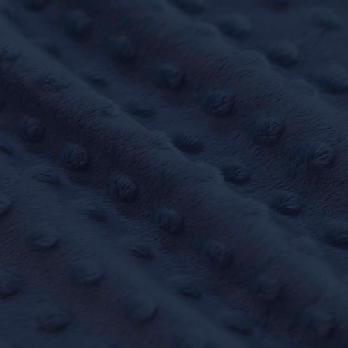 Minky - Bleu Marine