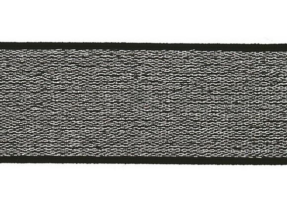 Elastique Gris Argenté - 4cm - 2,5€/m
