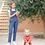 Thumbnail: Patron pochette Duos salopette Coco du 2 au 12 ans
