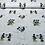 Thumbnail: Coton - Mickey et Minnie - Kiss - 15€/m