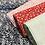 Thumbnail: Popeline de coton -  fleuri rouge - 9€/m
