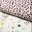 Thumbnail: Coton - Hoja Blush  - coupon 50cm/150cm