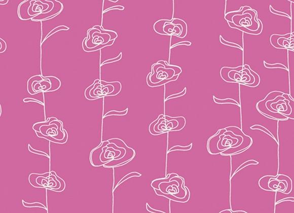 Coton - maara fleurs -  16€/m
