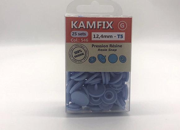 Pression Kam Fix - 25 Sets - 12,4mm - T5 - lila