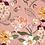 Thumbnail: Coton mauve - fleurs fluo - 19,5€/m