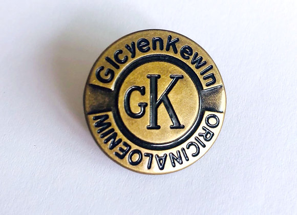Boutons jeans GK design - bronze -  25mm - 1,20€/pce