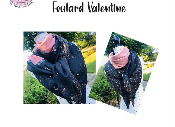 Tuto - Foulard Valentine