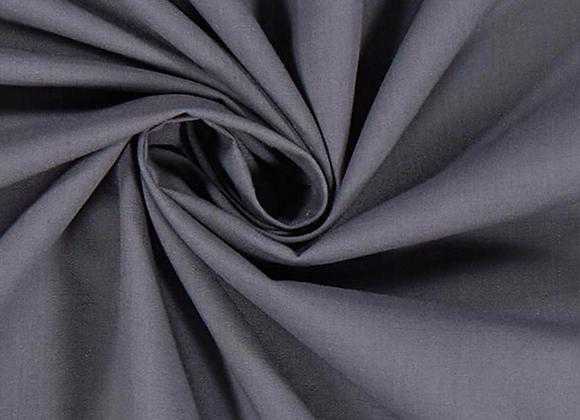 Coton unis - gris anthracite