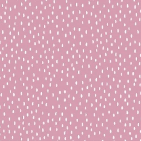Jersey - rose trait blanc - 14€/m