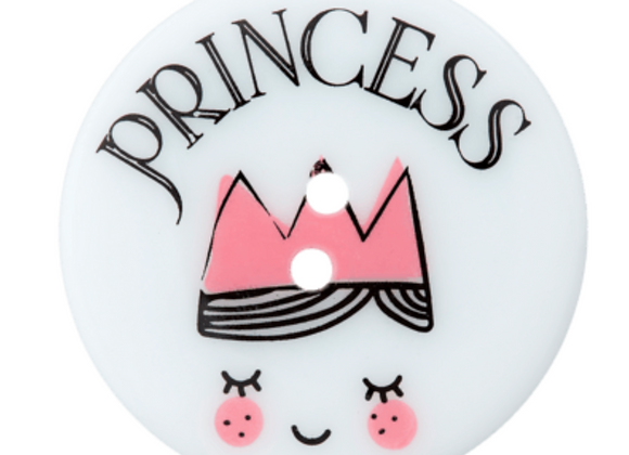 bouton - princess - 38mm - 2,30€/pce