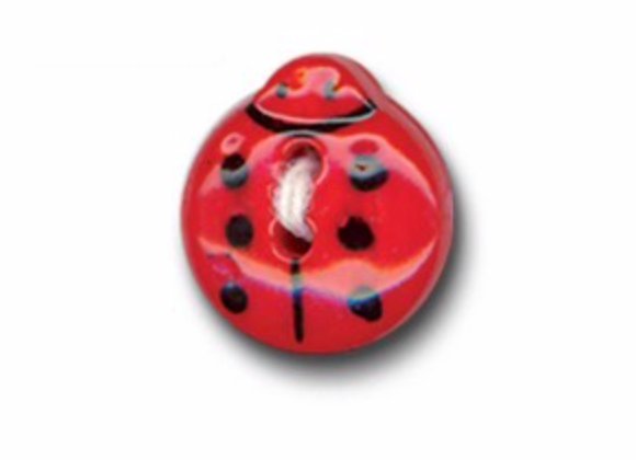 Boutons coccinelle  - 13mm - 0,50€/pce