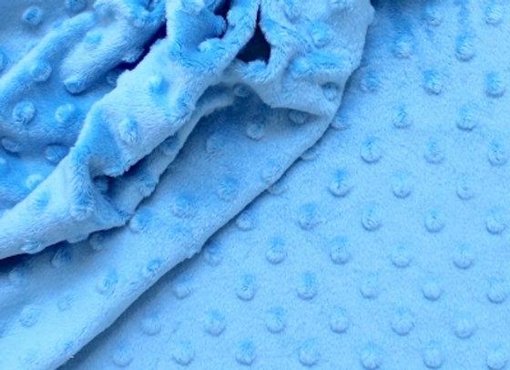 Minky - Bleu Aqua