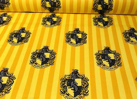 Coton -  Harry Potter  Hufflepuff - 19,90€/m