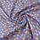 Thumbnail: Viscose - Ombilo Marine / Rouille -  14,5€