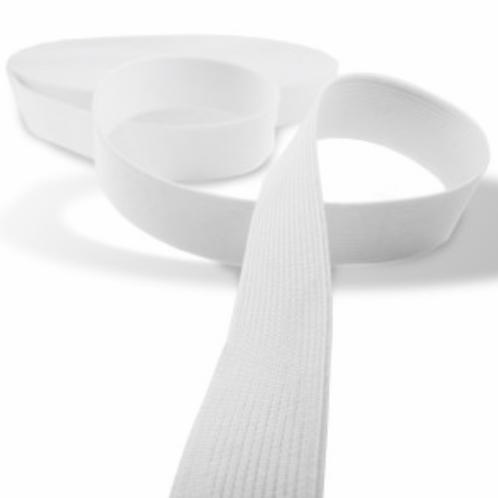 Elastique blanc - 40mm - 2€/m