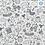 Thumbnail: Coton -  Dessines moi un lama  - coupon 50cm/150cm