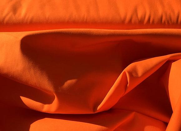 Popeline -  Orange