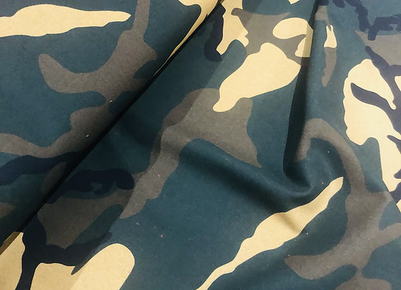 Coton - Army  - 10€/m