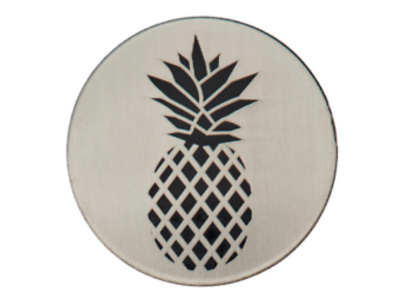 bouton - Ananas  -23mm - 2,3€/pce