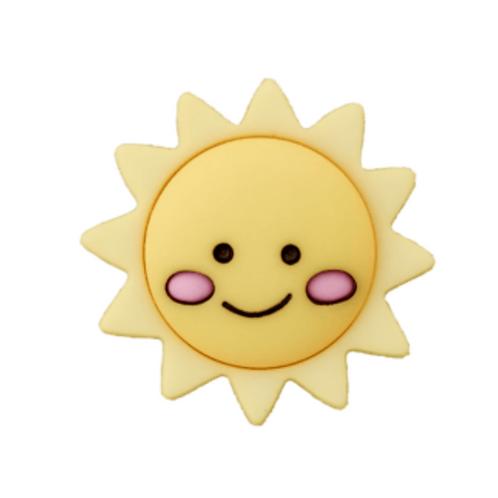 Copie de bouton - soleil  - 20mm - 1,85€/pce