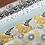 Thumbnail: Popeline de coton - trio triangle /menthe  - 9€/m