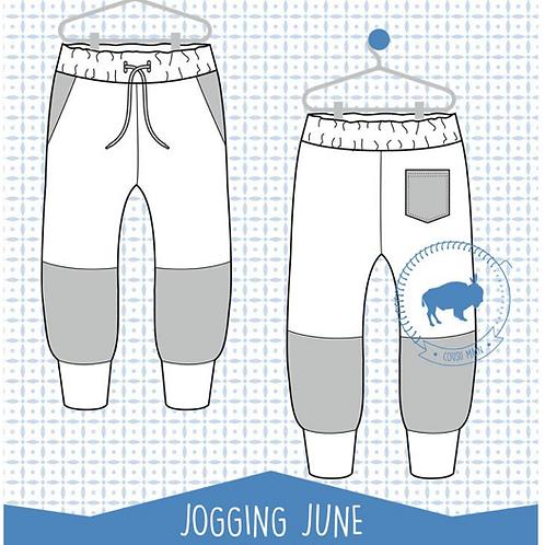 Patron enfant Jogging June du 6mois au 12 ans