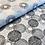 Thumbnail: Popeline de coton - spirale menthe - 9€/m