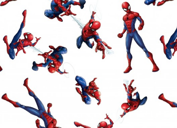 Coton - Spiderman  - 15€/m