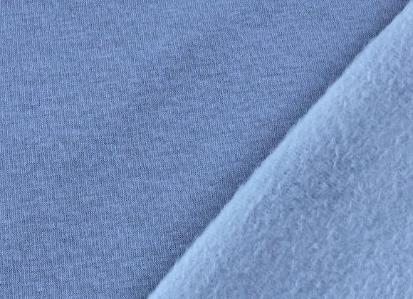 Sweat - Uni Bleu Ciel - 16€/m