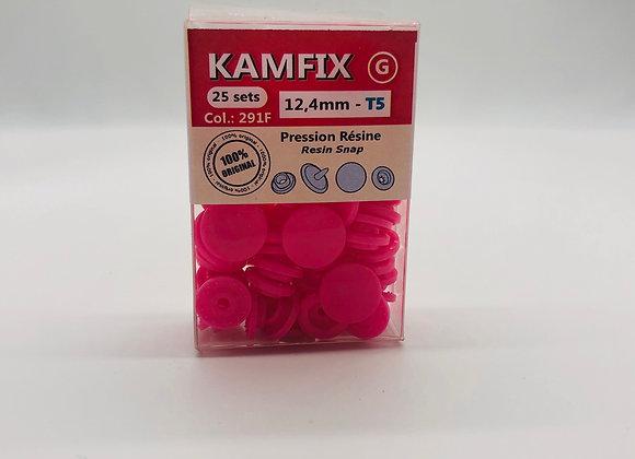 Pression Kam Fix - 25 Sets - 12,4mm - T5 - Fuchsia