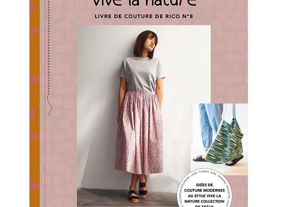 Livre de couture - Vive la nature
