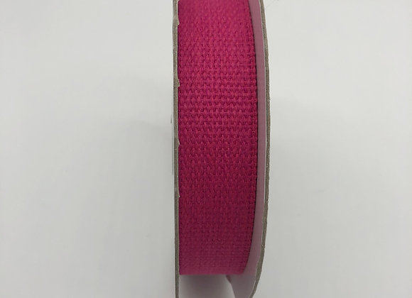 Sangle Coton - 30mm - Fuchsia