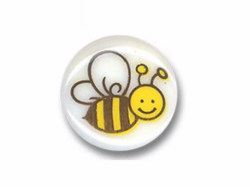 Boutons abeille  - 14mm - 0,50€/pce