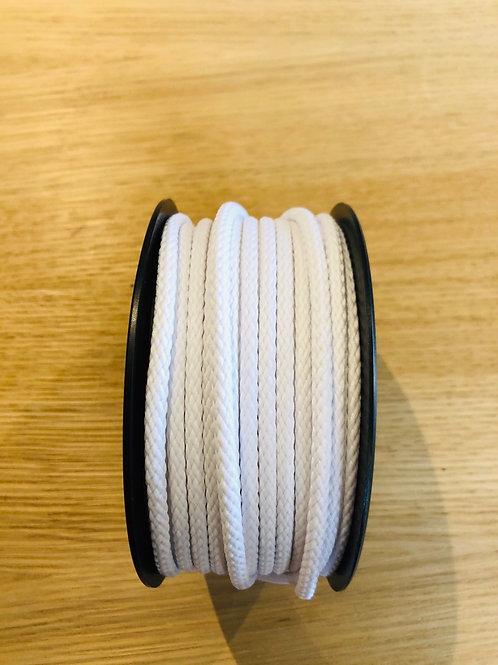 Cordon Anorak - 4mm - blanc