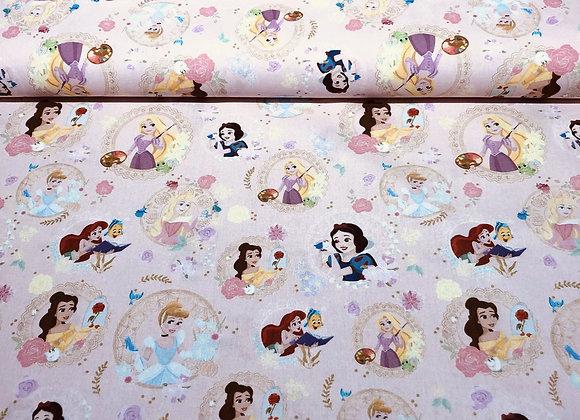 Coton - Sweet Princess - Rose pâle - 15€/m