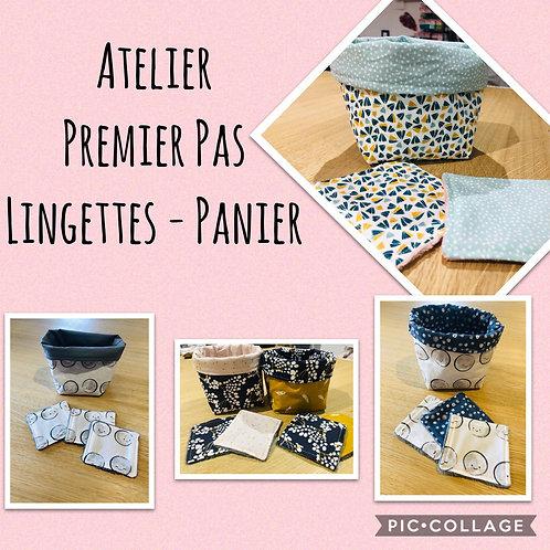 Atelier Premier Pas - Lingettes/Panier - Mercredi07/10 : 09h00-12h00