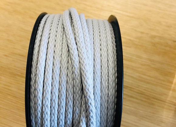 Cordon Anorak - 4mm - gris clair