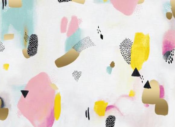 Coton - Pastel Parade - Pink  - 16€/m