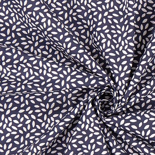 Coton - Stili Bleu Marine  - 11€/m