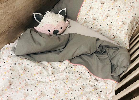 couette bébé et sa taie d'oreiller (135/100)