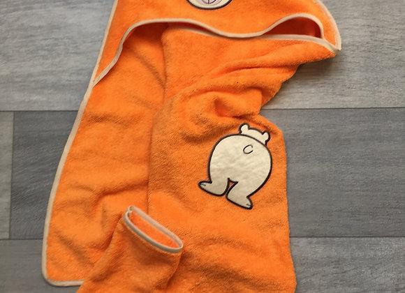 cape de bain & gant de toilette - uniquement sur commande