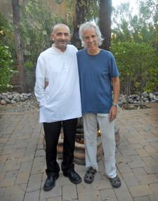 "With John Densmore of ""The Doors"""