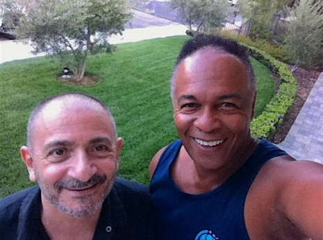 With Ray Parker Jr.
