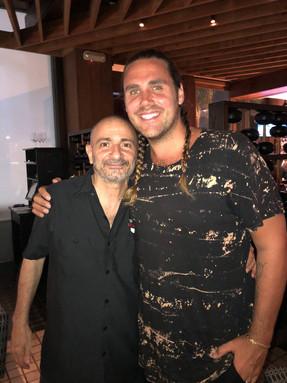 With Jason Evigan
