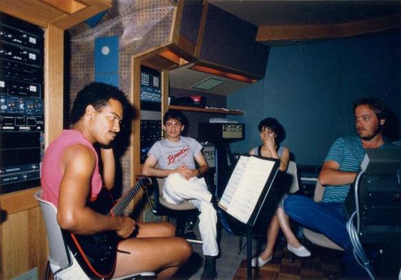 Recording Ray Parker Jr.