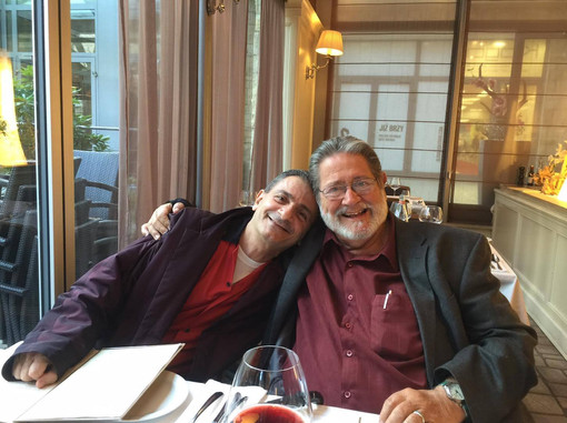 Dinner with Bobby Shew in Prague