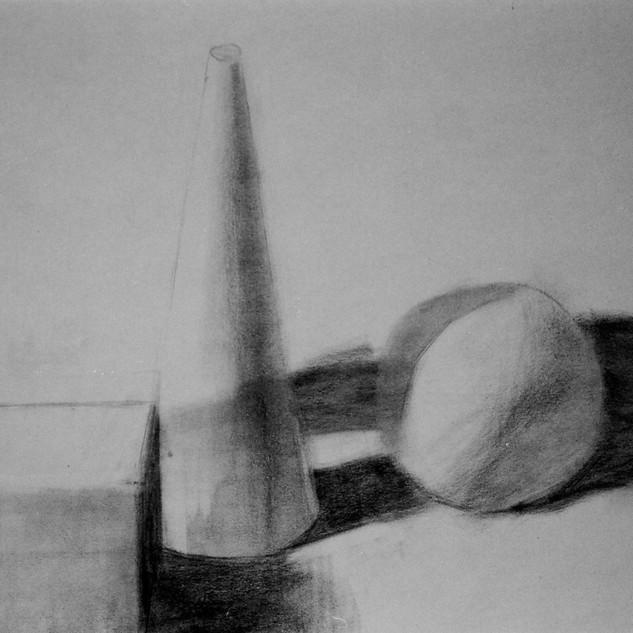 Square-Cone-Sphere